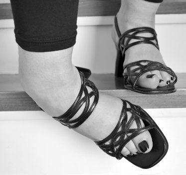 Umgeknickter Fuß